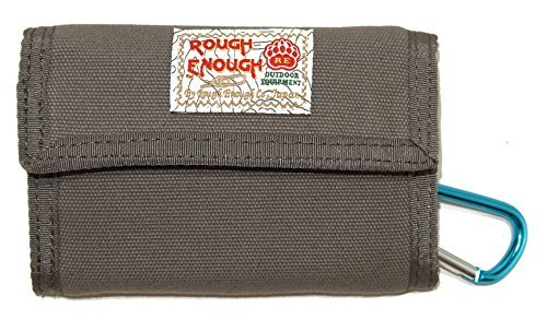 Monedero casual clásico de tela de Rough Enough