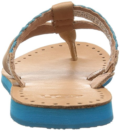 UGG Chaussures - Sandales AUDRA - 1011202 - rose gold Surf Blue Leather