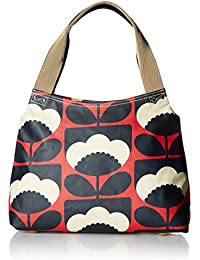 Orla Kiely womens Poppy Spring Bloom Classic Zip Shoulder Bag