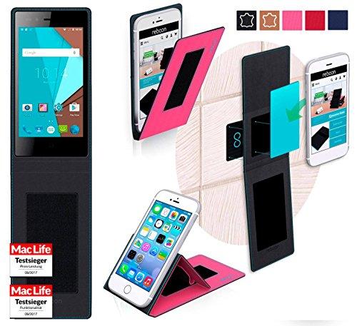reboon Hülle für Siswoo A5 Tasche Cover Case Bumper | Pink | Testsieger