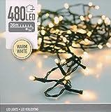 Lichterkette mit 480 LEDs / warmweiß / 39m lang / Innen und Außen