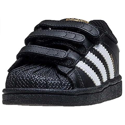 adidas Superstar Foundation Kleinkind Sneakers Black White - K6.5 UK