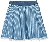 Pepe Jeans Mädchen Rock Jenna Skirt, Blau (Denim), Jahre (Herstellergröße: 10)