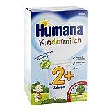 Humana Kindermilch 2+, ab dem 2. Jahr, 550g