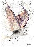 Poster 50 x 70 cm: Bezaubernde Eule von Ashvin Harrison - Hochwertiger Kunstdruck, Kunstposter