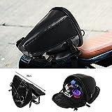 Aiguozer Motorrad Fahrrad Hecktasche Gepäck Rücksitz Tasche Schwanz Paket Satteltasche