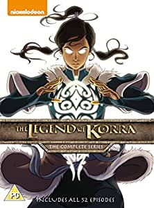 The Legend Of Korra: The Complete Series (5 Dvd) [Edizione: Regno Unito] [Import italien]