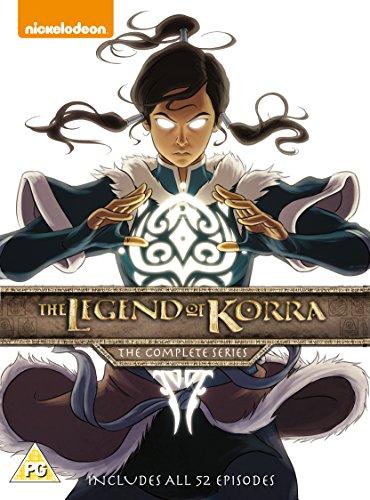 The Legend Of Korra: The Complete Series [8 DVDs] [UK Import] -