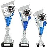 Pokalset je 1x Größe S,M,L Pokal Feuerwehr Serie Verdun Trophäe Silber groß mit Gravur