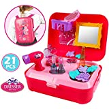 Beauty Make Up And Cosmetic Set Back Pack With 21 Pcs Makeup Accessories For Children Girls
