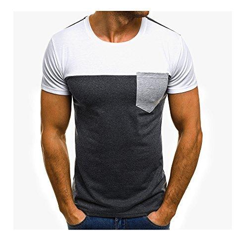 Challeng Herren T Shirt Slim Fit Herren T Shirt Hoodie