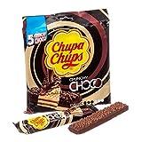Chupa Chups Choco Crunchy Dark - 18 Confezioni da 5 barrette [90 barrette]