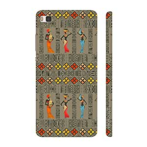 Enthopia Designer Hardshell Case Africano Back Cover for Huawei P8