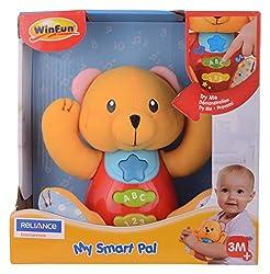Winfun Smart Jungle Bear, Multi Color