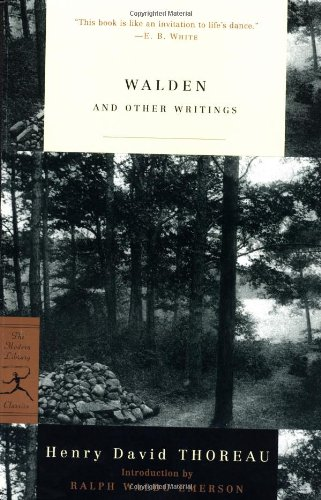 Walden and Other Writings (Modern Library Classics)