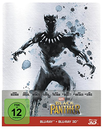 Avengers Vergleich America Captain Kostüm - Black Panther (Steelbook) [Blu-ray] [Limited Edition]