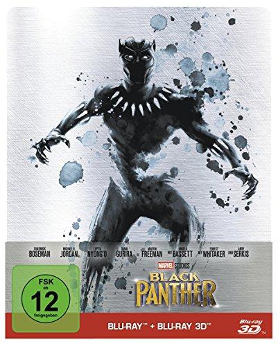Black Panther (Steelbook) [Blu-ray] [Limited Edition] (Steelbooks Video-spiele)