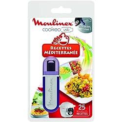 Moulinex XA600000 Clé USB Cookéo 25 Recettes Méditerranée