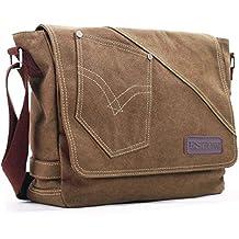 Eshow bolsos y marcas de bolsos, bolsos de tela de bolsos baratos de bolsos bandolera de lona para hombre¡
