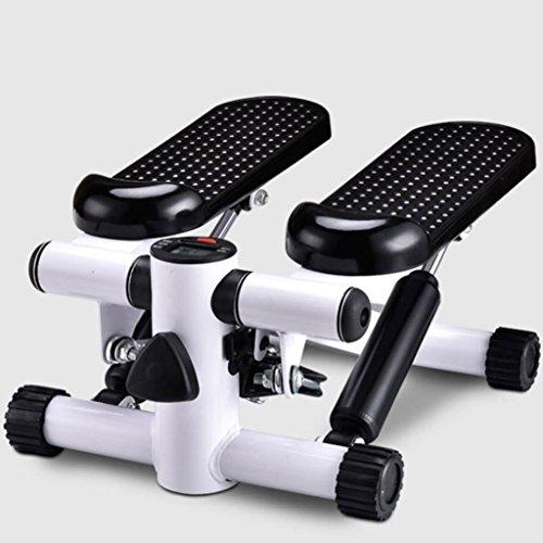 A-SSJ Stepper Multi-Funktions-Mute hydraulische Pedal Gewichtsverlust Fitness Bodybuilding AusrüstungPedal Exerciser mit Digitalanzeige und Einstellbarer Widerstand (Multi Sport Stepper)