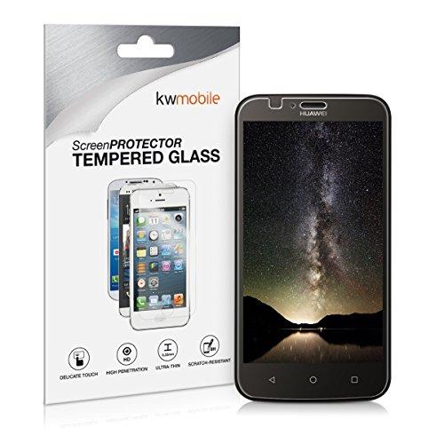 kwmobile Huawei Y625 Folie - Glas Handy Schutzfolie für Huawei Y625 - Full Screen Bildschirm Schutz
