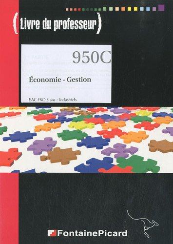 Economie-Gestion Bac Pro 3 ans industriels (1Cédérom) par Jean-Noël Augis, Jeanne Barry