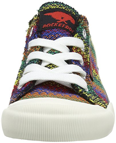 Rocket Dog  Jazzin, Basses femme Multicolour (Zane Black Multi)