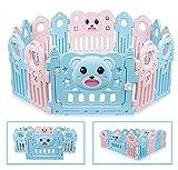 Besrey Bear Box per Bambini Grande Sicurezza Barriera Recinto - 12+2 pannelli