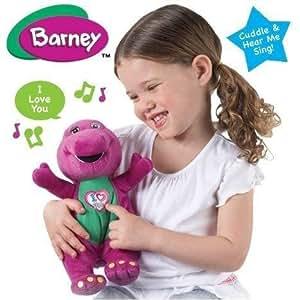 Chant Barney I Love You Peluche Doudou