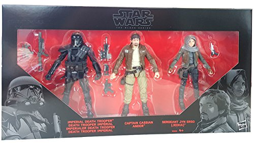 Star Wars Rogue One Black Series Action Figure 3-Pack 2016 Rebels vs. Imperials 2016 Exclusive 15 cm Hasbro Figures
