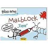 """Krickel-Krakel Malblockbuch """"Tiere"""""""