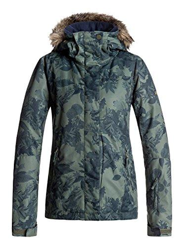 Roxy Jet Ski - Snow Jacket for Women - Snow Jacke - Frauen - L - Grün