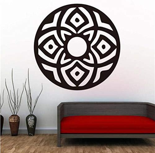 Adesivi Murali Indiani Astratti Circolari Mandala Adesivi In   Vinile Arte Religione Modello Stickers Murali F Soggiorno Arredamento Casa 44Cmx44Cm -