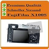 4 x Entspiegelnde Displayschutzfolie für FujiFilm X100S Schutzhülle Displayschutz Displayfolie Folie