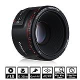 YONGNUO YN50mm F1.8 II Obiettivo Principale Standard Ampio Diaframma Auto Focus 0.35 Lunghezza focale più vicina per Fotocamera Canon EOS 70D 5D2 5D3 600D DSLR