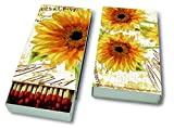 Kaminhölzer Sunbathing - Große Sonnenblume