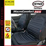 12V Auto Sitzauflage Sitzheizung Heizkissen heizbar schwarz 42W