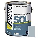 Peinture SOL SATIN 2.5 litres Souris (RAL 7001)...