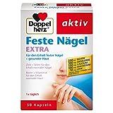 Doppelherz Feste Nägel Extra – Mit Biotin für den Erhalt normaler Haut und Zink für gesunde Nägel – 1 x 30 Kapseln