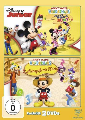Jetzt wird's bunt/Zahlenspaß mit Micky (2 DVDs)