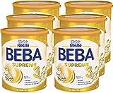 Nestlé BEBA SUPREME 3 Folgenahrung: ab dem 10. Monat, Pulver, mit hydrolisiertem Eiweiß, im Anschluss an das Stillen, 6er Pack (6 x 800g)