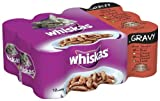 Whiskas Can Gravy Selection 12 x 400 g (Pack of...