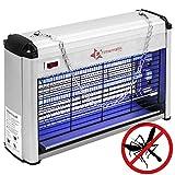PrimeMatik - Matamoscas y Mosquitos eléctrico Lámpara Mata Insectos voladores y Moscas 16 W