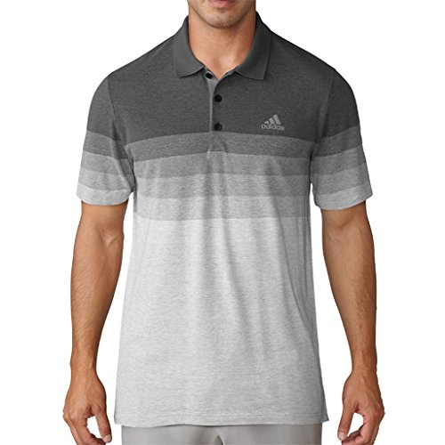 Adidas Golf Mens 2017 Gradient Pique Polo Shirt