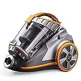 PUPPYOO Multi-système Aspirateur Traîneau Sans Sac Aspirateur Cyclonique WP9005B Force Puissant