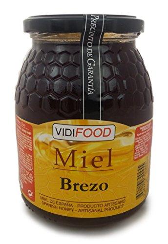 Miel de Brezo - 1kg - Producida en España - Alta Calidad,...