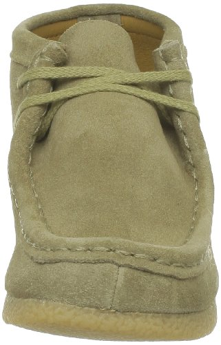 Clarks WallabeeBt Boy 110, Chaussures montantes fille Marron (Maple Suede)