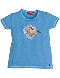 Salt & Pepper Horses Uni Happiness, T-Shirt Fille