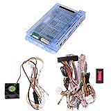 [Englisch]Pandora's Box 5S Home Arcade Console Arcade Machine 999 Spiele alle in 1 Kit, 2 Spieler Arcade-Maschine, mit Kabelbaum befestigen Draht Kabel, Lüfter, LED-Streifen