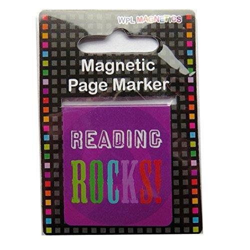 Magnetische Lesezeichen - 2 Stück - Reading Rocks - bei Wildside Rock Lesezeichen